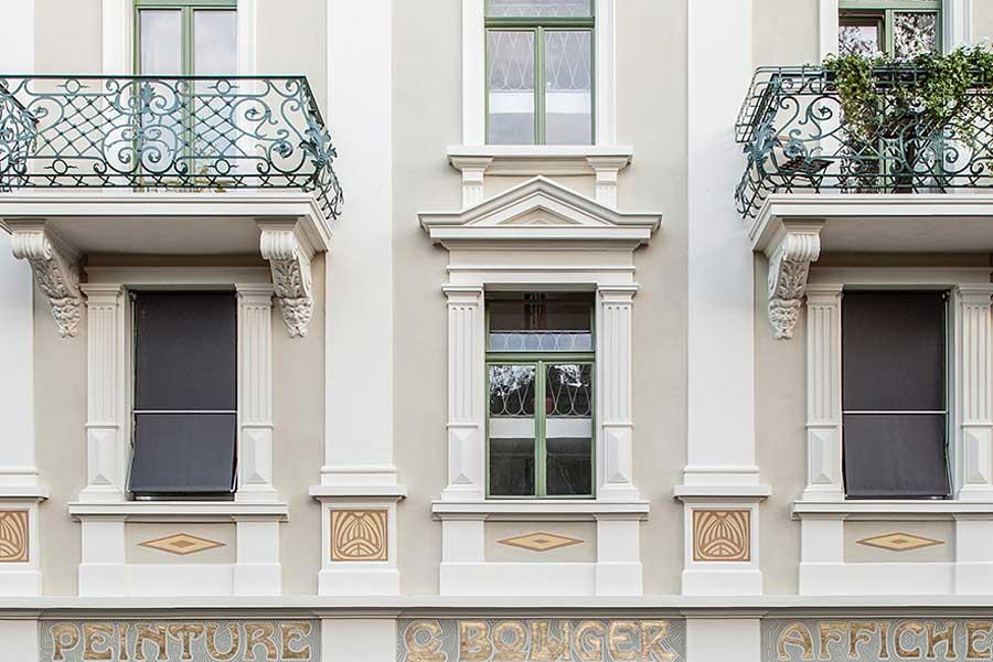 Fassade Unterer Quai 90, Biel