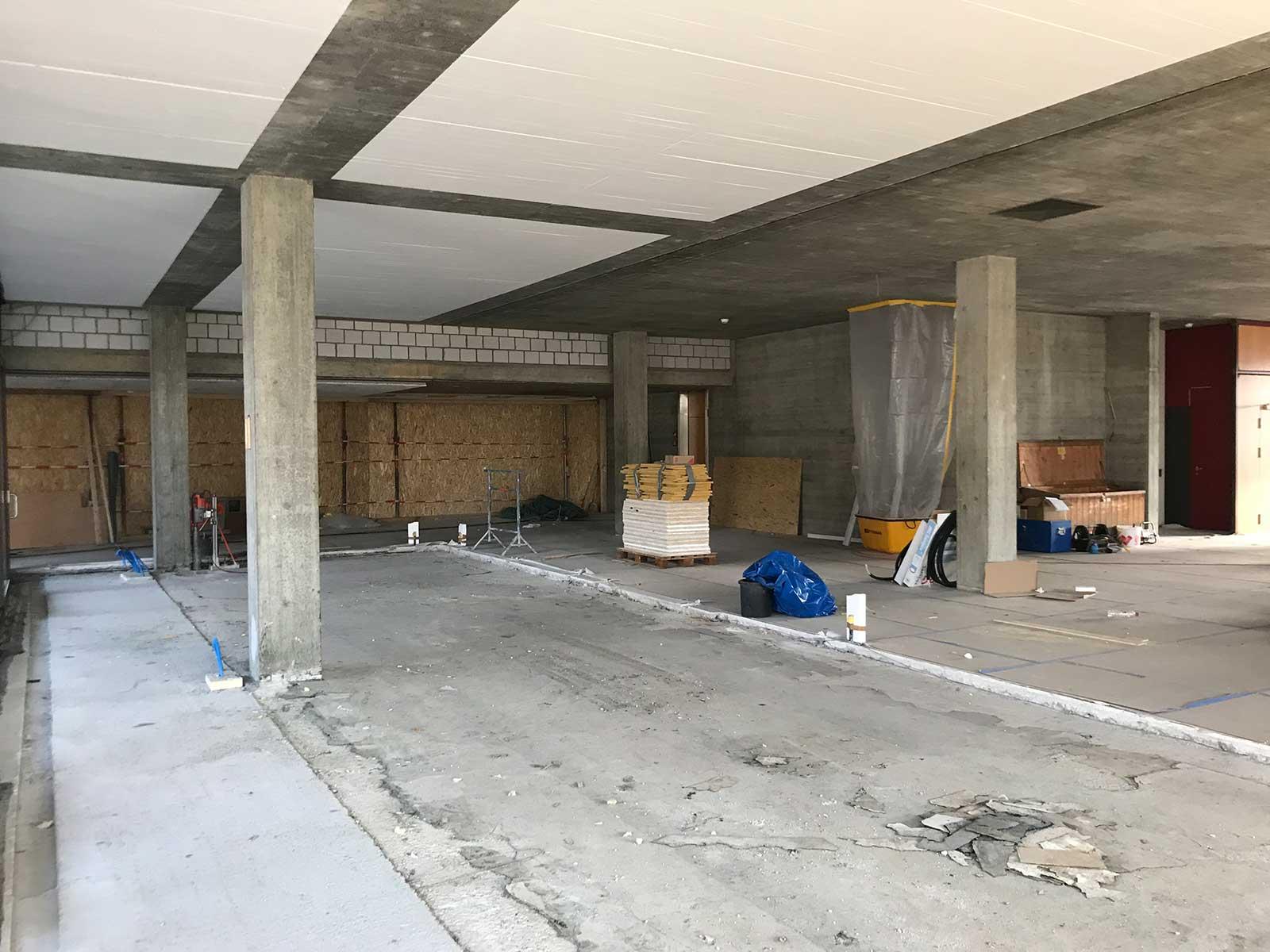 Rohbau Erweiterung Speisesaal Sanierung und Erweiterung Alters- und Pflegeheim Redernweg Biel/Bienne