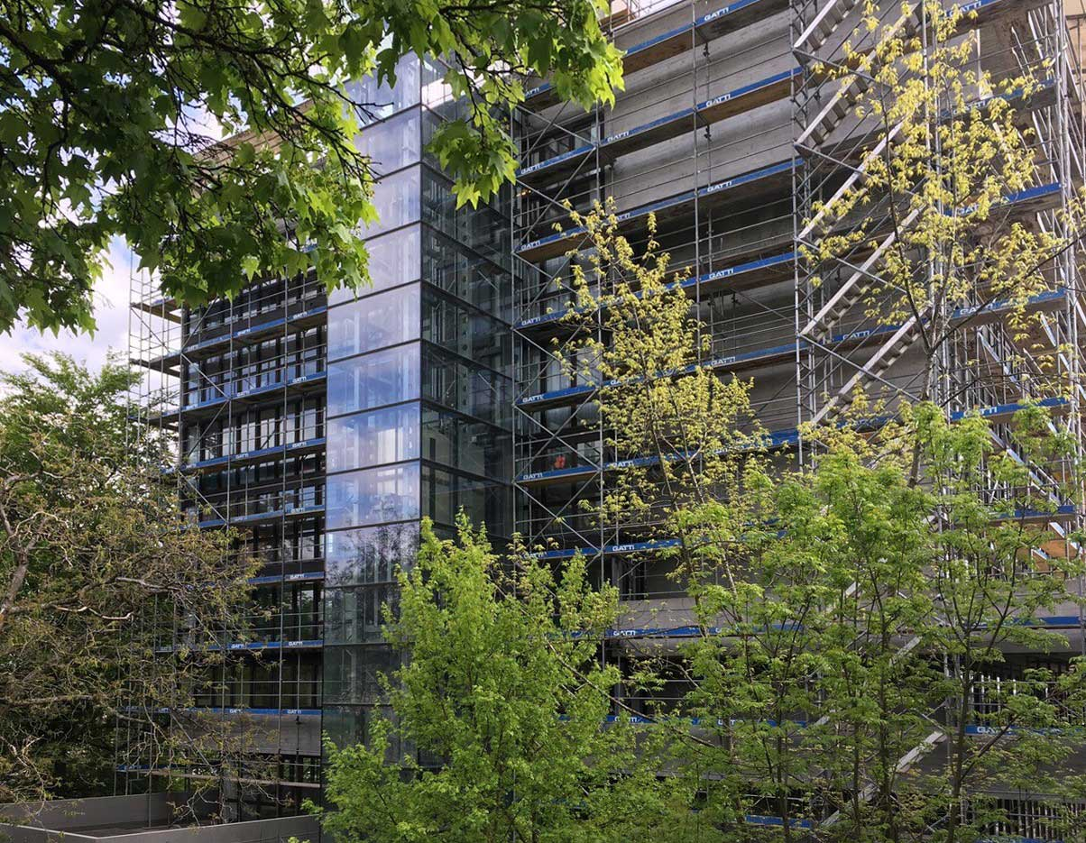 Sanierung Sichtbeton und Metallfenster Sanierung und Erweiterung Alters- und Pflegeheim Redernweg Biel/Bienne