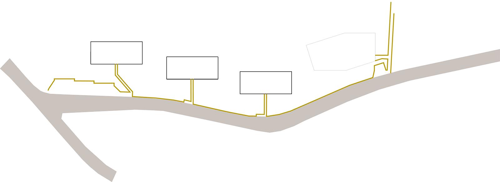 """Entwurfsskizze """"Seilschaft"""" Neubau Mehrfamilienhaus im Eichhölzli Biel/Bienne"""