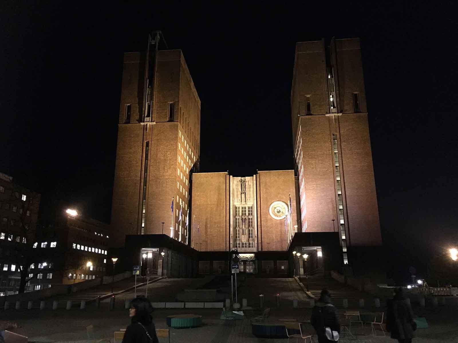 Büroausflug 2018, Ratshaus Oslo