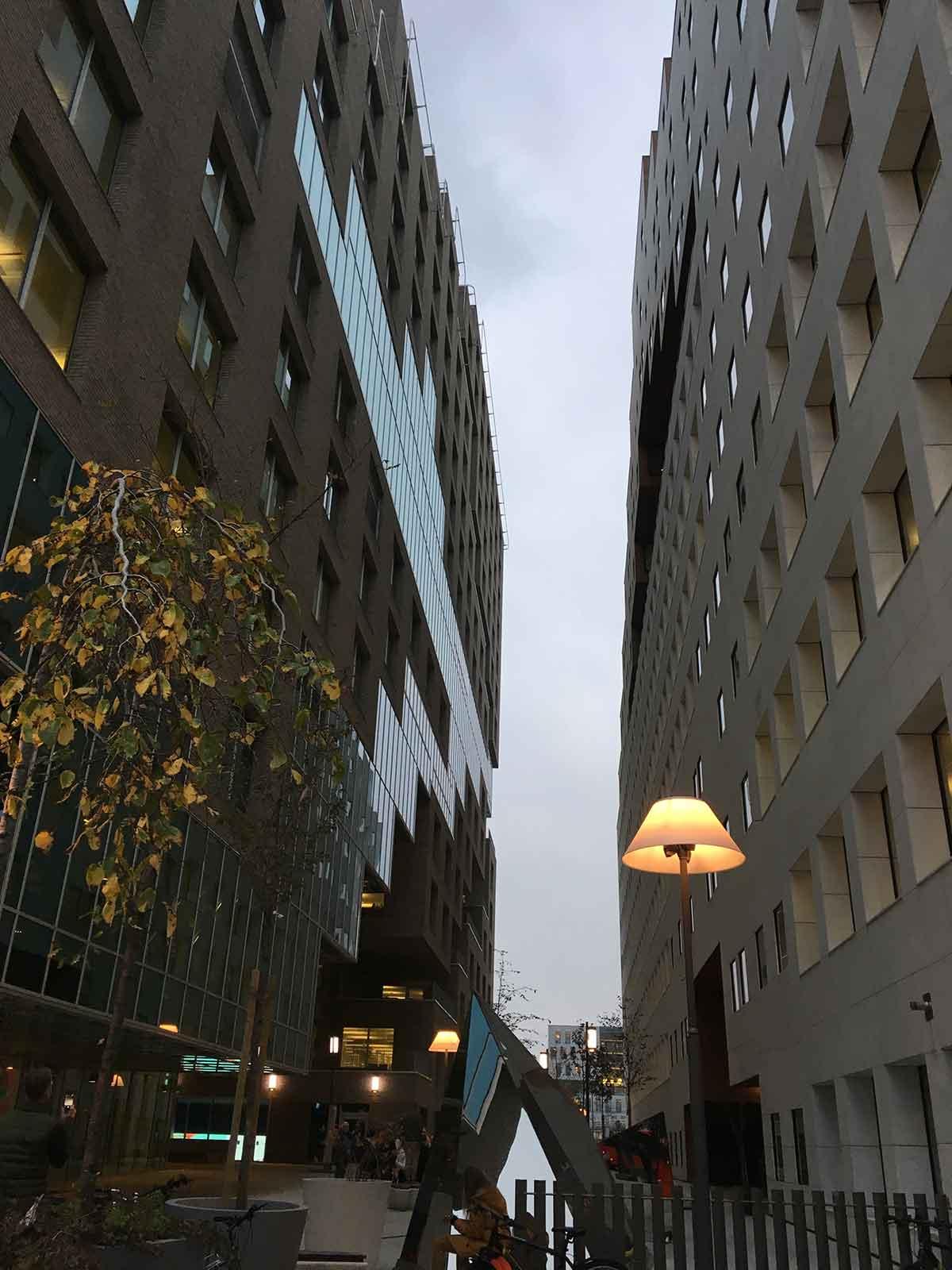 Büroausflug 2018, Oslo, Barcode, Dichte