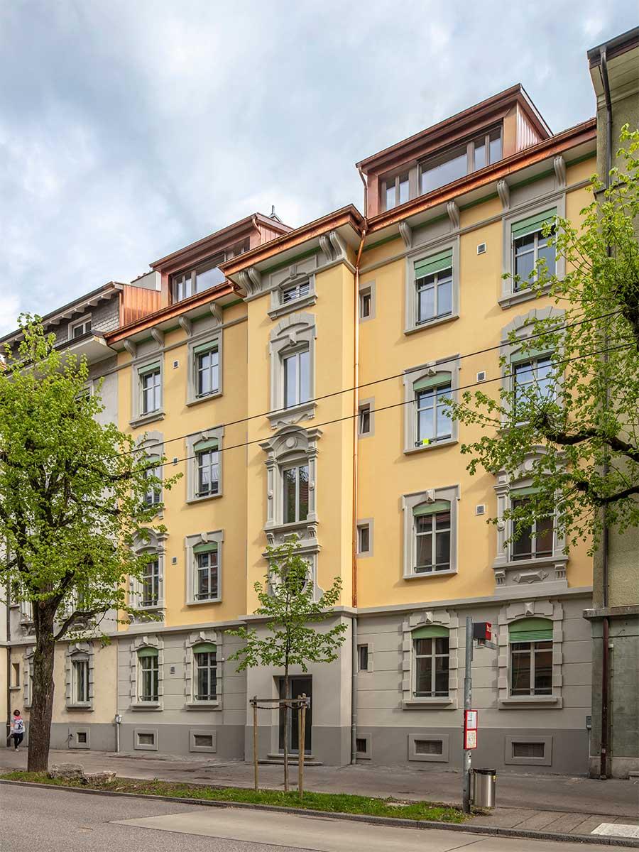 Wohnungssanierung Dufourstrasse Biel