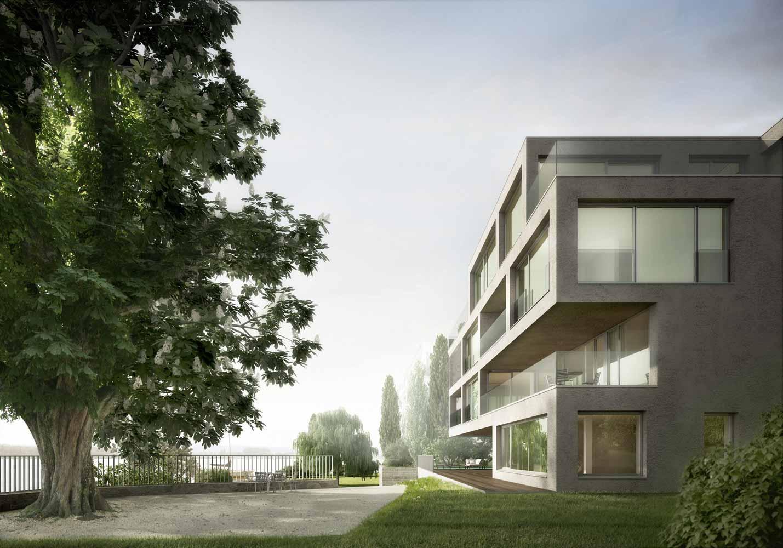 Neubau MFH Neuenburgstrasse Biel