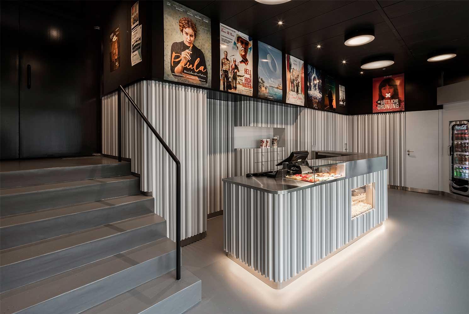 Umbau und Sanierung Foyer Kino Camera Bern