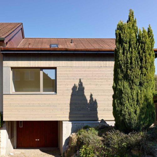 Erweiterung Einfamilienhaus Schwadernau