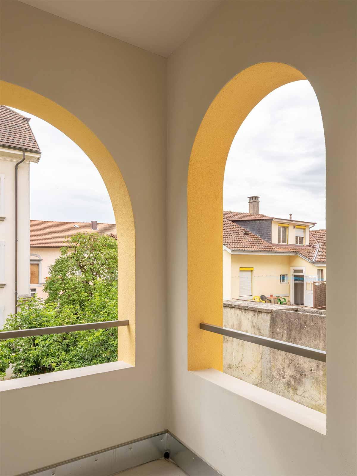Fassadensanierung Dufourstrasse Biel