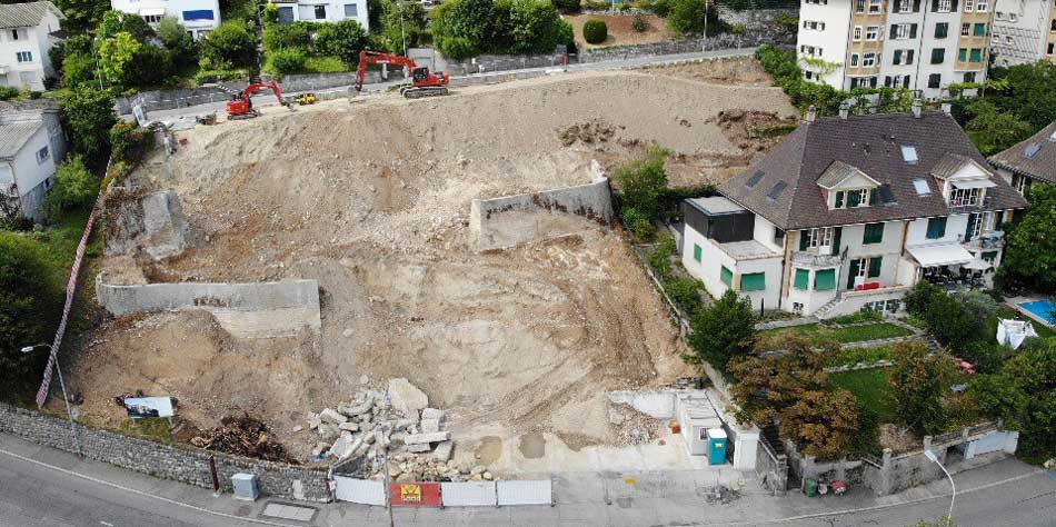 Baustart Wohnüberbauung Höheweg Biel