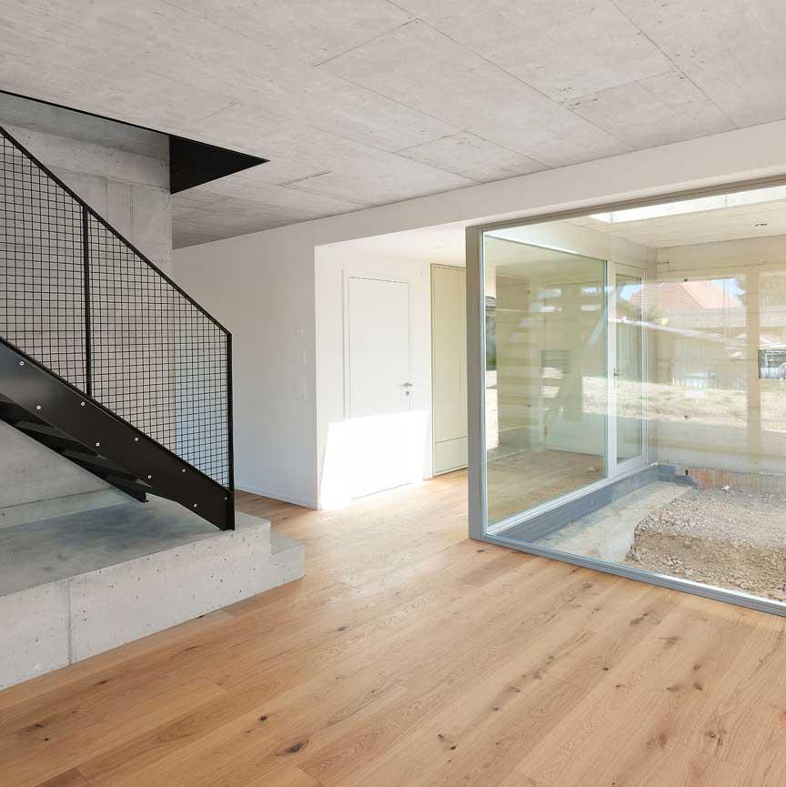Fertigstellung Wohnhaus Tannenweg, Walperswil