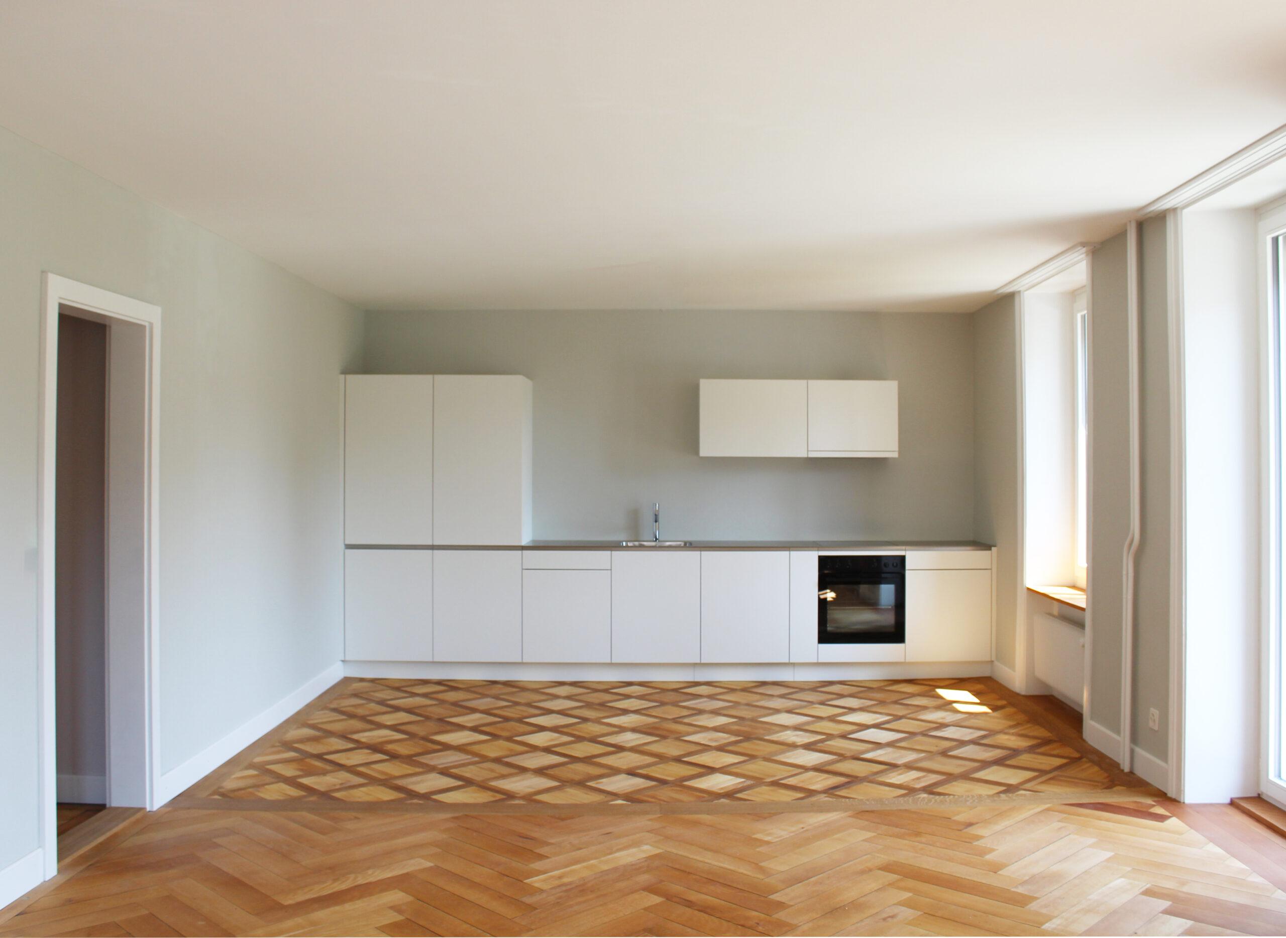 Umbau Wohnung Elfenaustrasse Biel