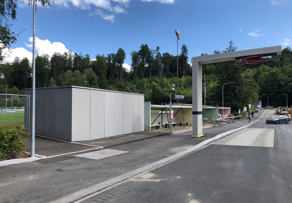 Prototyp Busladestation, Biel
